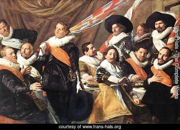 Banquet of the Officers of the St George Civic Guard Company (1)  c. 1627