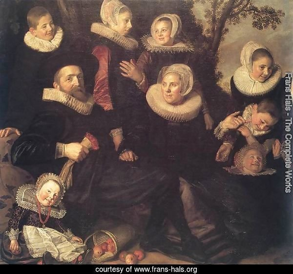 Family Portrait in a Landscape c. 1620