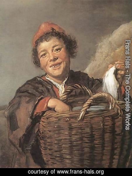 Frans Hals - Fisher Boy  1630-32