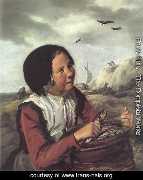 Frans Hals - Fisher Girl  1630-32