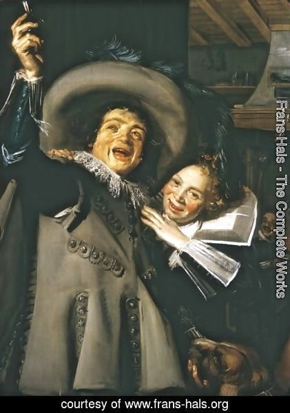 Frans Hals - Jonker Ramp and his Sweetheart  1623