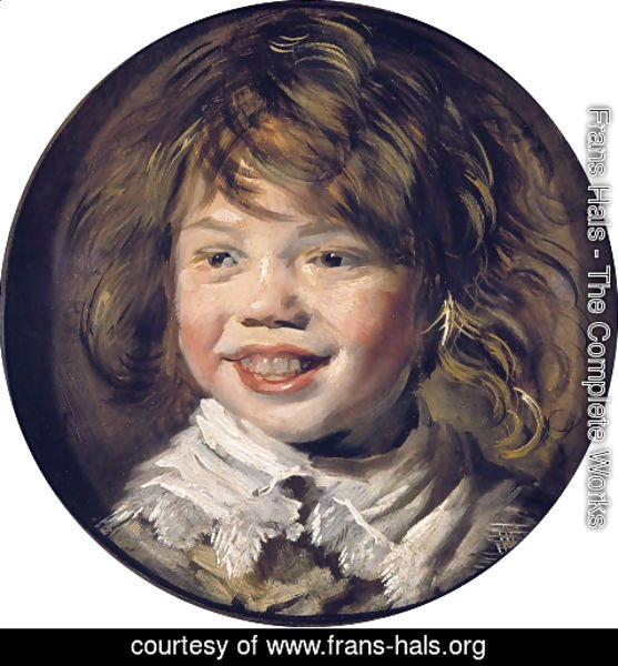 Frans Hals - Laughing Child  1620-25
