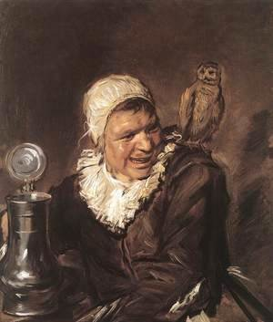 Frans Hals - Malle Babbe  1633-35