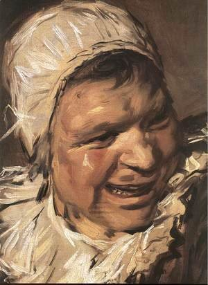 Frans Hals - Malle Babbe (detail) 1633-35