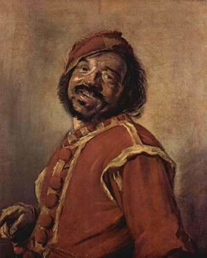 Frans Hals - Mulatto (so-called)  1628-30