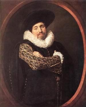Frans Hals - Portrait of a Man  1622