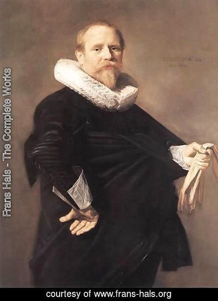 Frans Hals - Portrait of a Man  1630