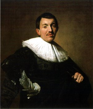 Frans Hals - Portrait of a Man 1634