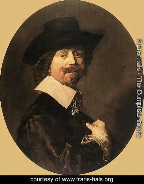 Frans Hals - Portrait of a Man  1644