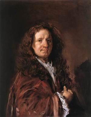 Frans Hals - Portrait of a Man  1660-66