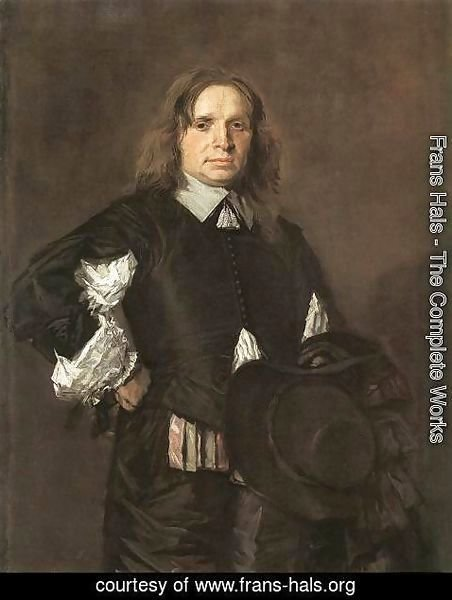Frans Hals - Portrait of a Man (1) 1650-52