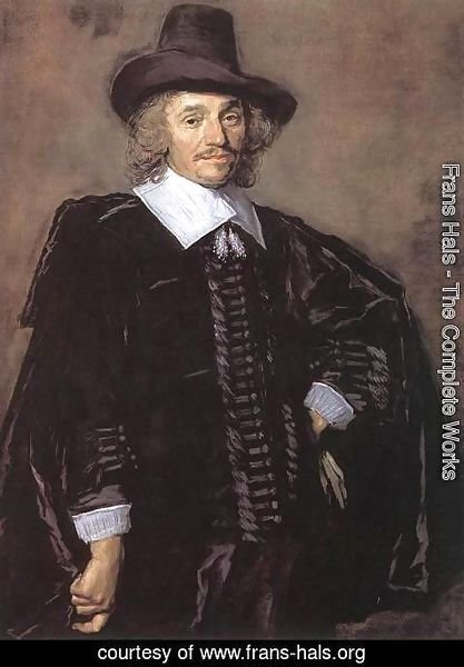 Frans Hals - Portrait of a Man (2)  1650-52