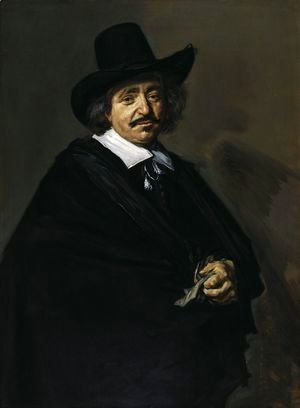 Frans Hals - Portrait of a Man  c. 1655