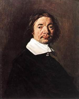 Frans Hals - Portrait of a Man  c. 1660