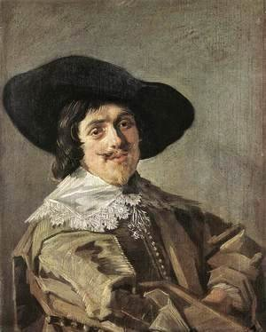 Frans Hals - Portrait of a Man  c. 1635