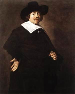 Frans Hals - Portrait of a Man  c. 1640