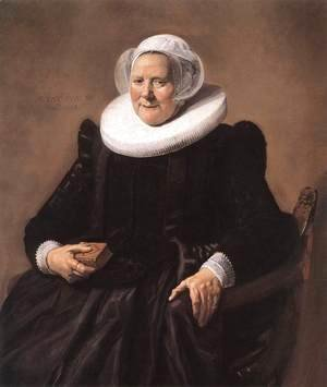 Frans Hals - Portrait of a Seated Woman 1633