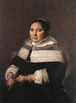 Frans Hals - Portrait of a Seated Woman  1660-66