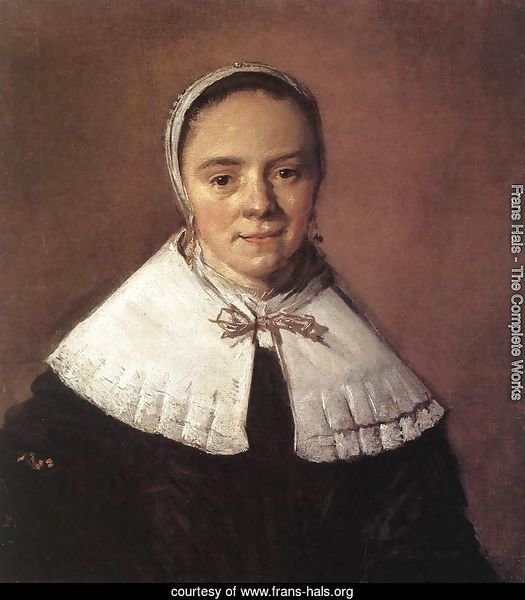 Portrait of a Woman  1655-60