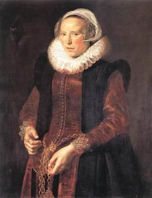 Frans Hals - Portrait of a Woman  c. 1611
