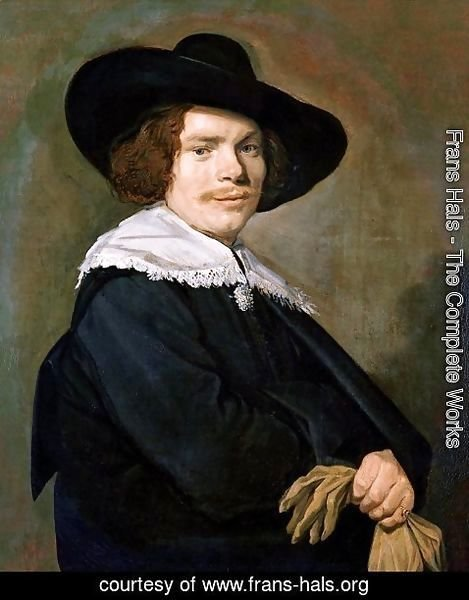 Frans Hals - Portrait of a Young Man