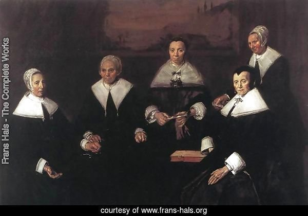 Regentesses of the Old Men's Almshouse  1664