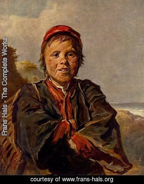 Frans Hals - The Fisher Boy  1630-32