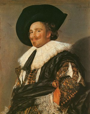 Frans Hals - The Laughing Cavalier  1624