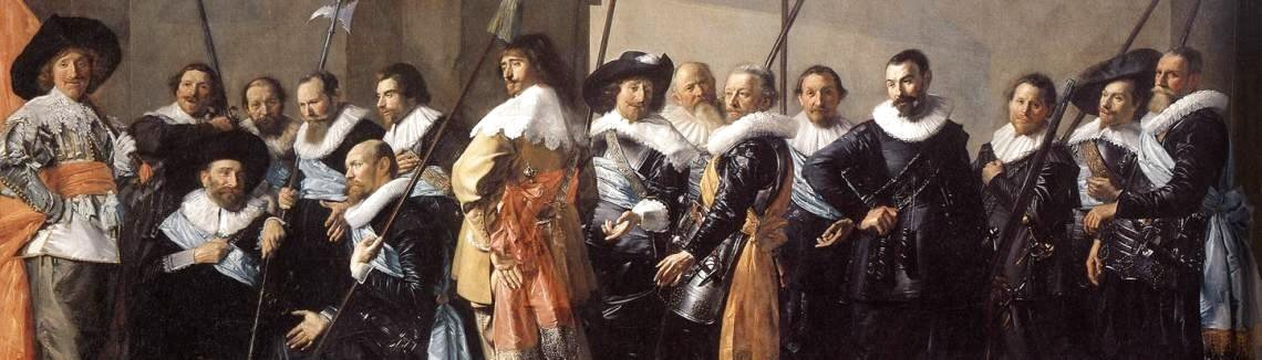 Frans Hals - The Meagre Company  1633-37
