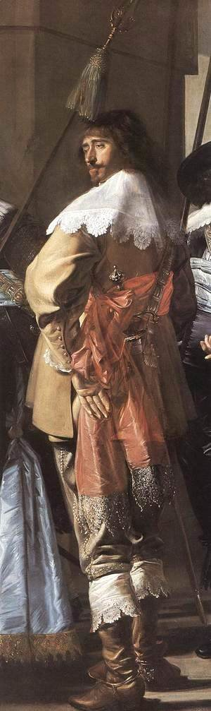Frans Hals - The Meagre Company (detail 4)  1633-37