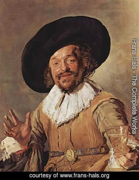Frans Hals - The Merry Drinker  1628-30