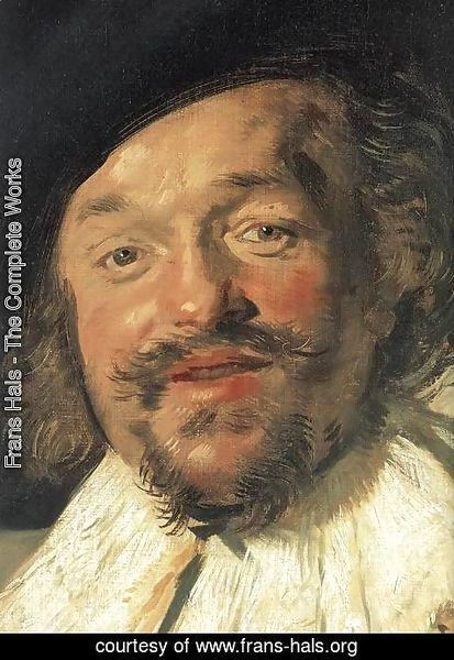 Frans Hals - The Merry Drinker (detail)  1628-30