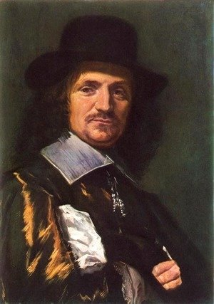 Frans Hals - The Painter Jan Asselyn 1650s