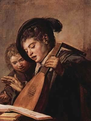 Frans Hals - Two Boys Singing  c. 1625