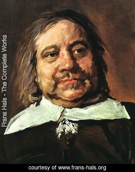 Frans Hals - Willem Croes (detail)  1662-66